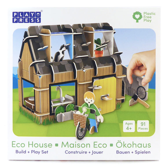 Eco House Plastic-free Playset