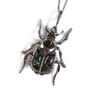 Noble Chafer Beetle Pendant 1