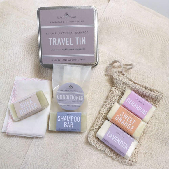 Cosy Cottage Travel Essentials Tin