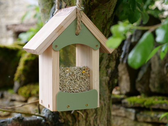 Bird Barn Seed Feeder
