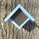 Wooden Solitary Bee Nest Box- Handcrafted in the UK