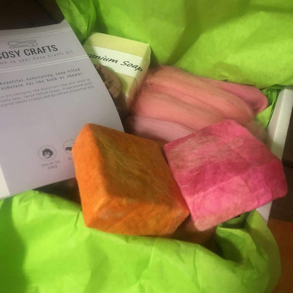 'Make your own Needle Felted Soap Kit' by Cosy Cottage