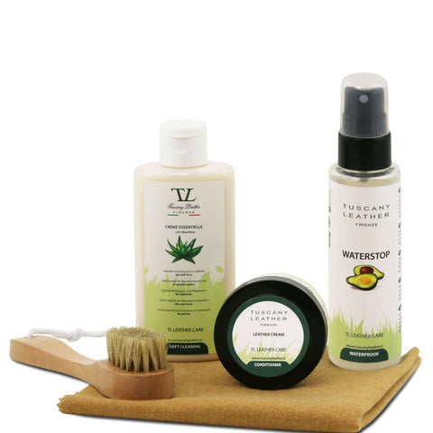 Tuscany Leather Complete Eco Friendly Leather Care Kit