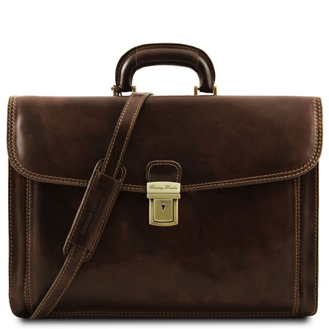 Tuscany Leather Classic 'Napoli' Leather Laptop Briefcase