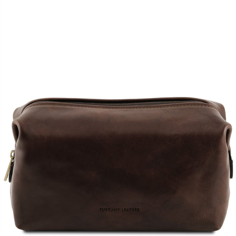 Tuscany Leather 'Smarty' Exclusive Leather Toiletry Bag (Large)