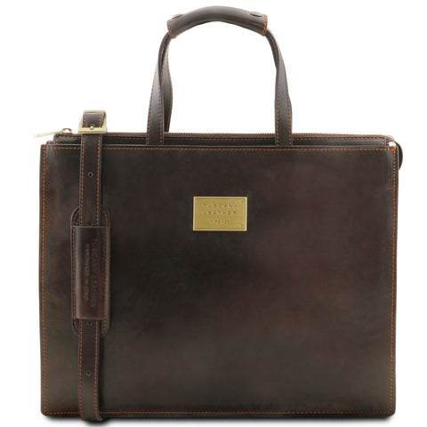 Tuscany Leather 1st Class 'Palermo' Leather Briefcase