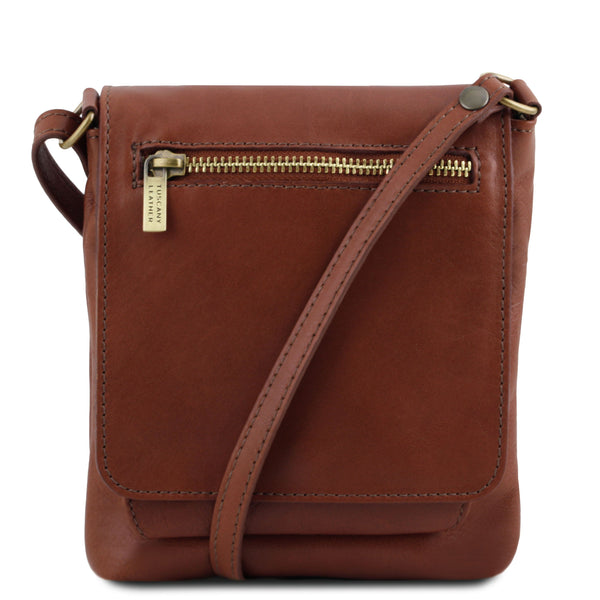 Tuscany Leather Classic 'Sasha' Soft Leather Crossbody Bag