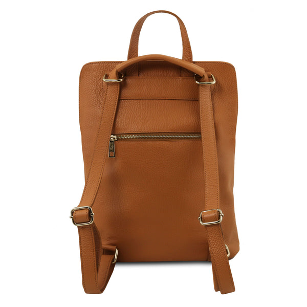 Tuscany Leather 'TL Bag' Soft Leather Backpack For Women (TL141682) Backpack Tuscany Leather