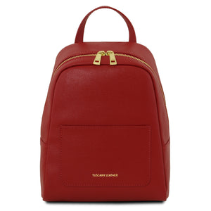 Tuscany Leather 'TL Bag' Saffiano Leather Backpack For Women (Small)