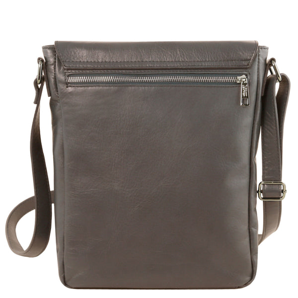Tuscany Leather 1st Class 'Cesare' Men's Leather Crossbody Bag Crossbody Bag Tuscany Leather