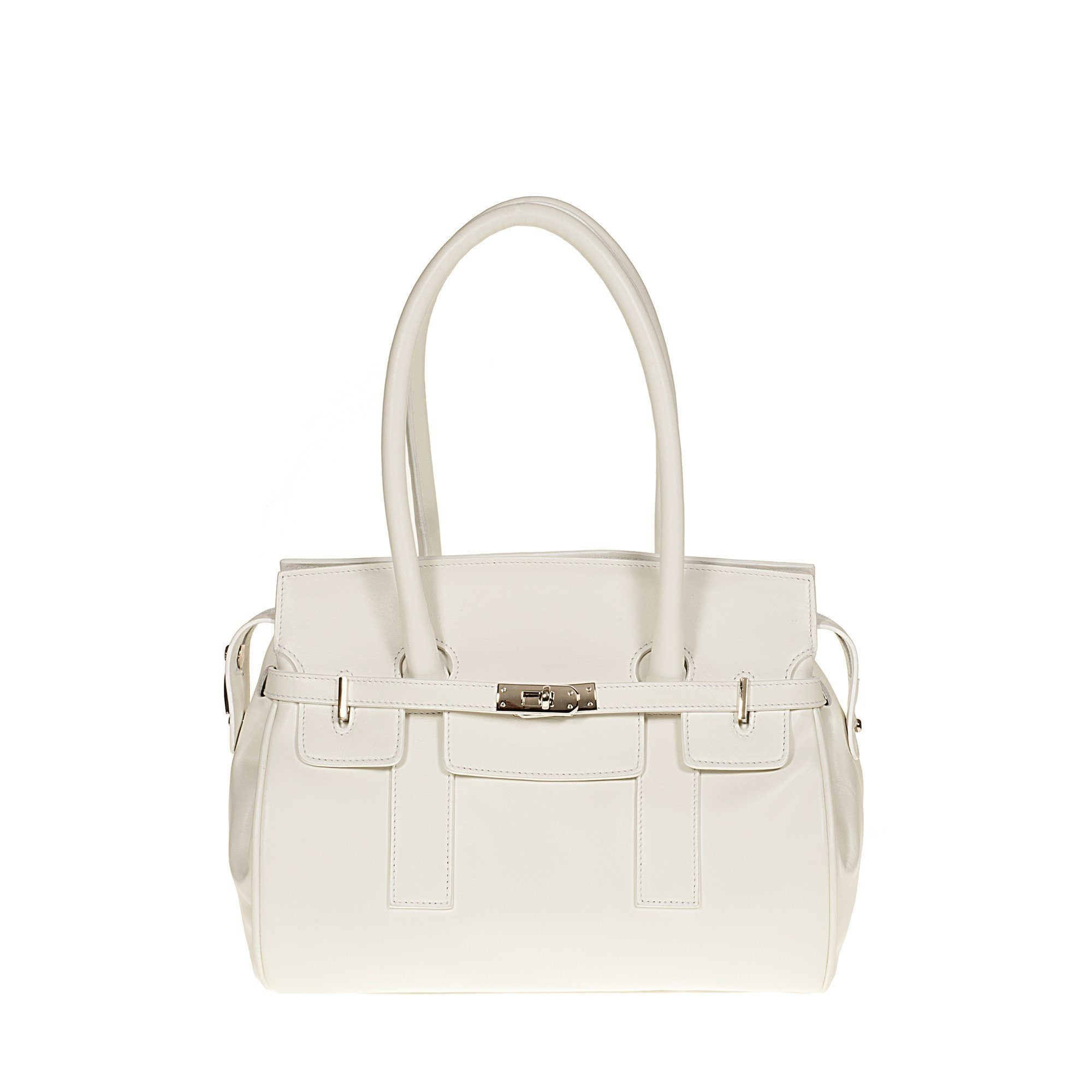 Tuscans 'Marmoraia' Women's Leather Handbag Handbag Tuscans Porcelain
