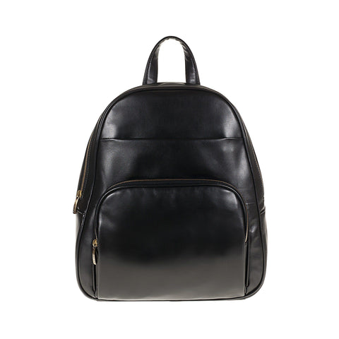 Tuscans 'Rupia' Men's Leather Backpack Backpack Tuscans Black