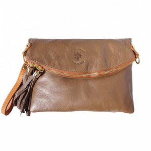 Made in Tuscany 'Graziella' Clutch Leather Shoulder Bag