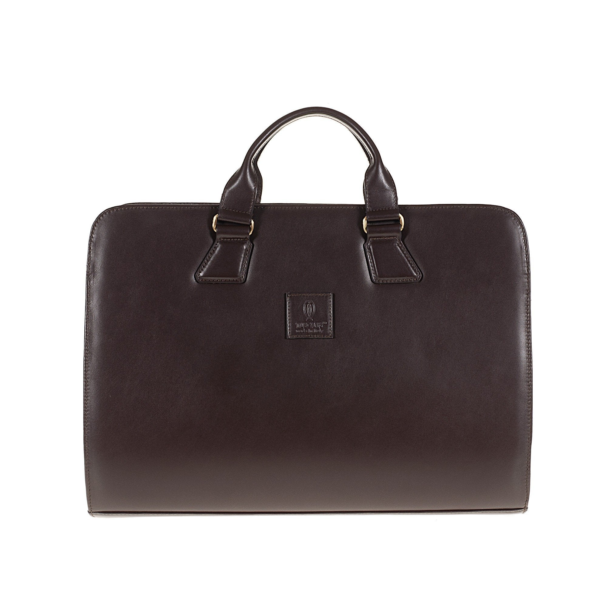 Tuscans 'Yuan' Men's Leather Briefcase
