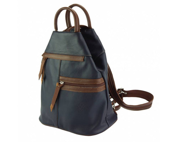 Made In Tuscany 'Sorbonne' Leather Backpack Backpack Made in Tuscany