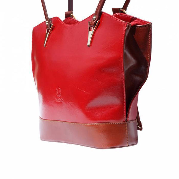 Made in Tuscany 'Greta' Leather Convertible Backpack