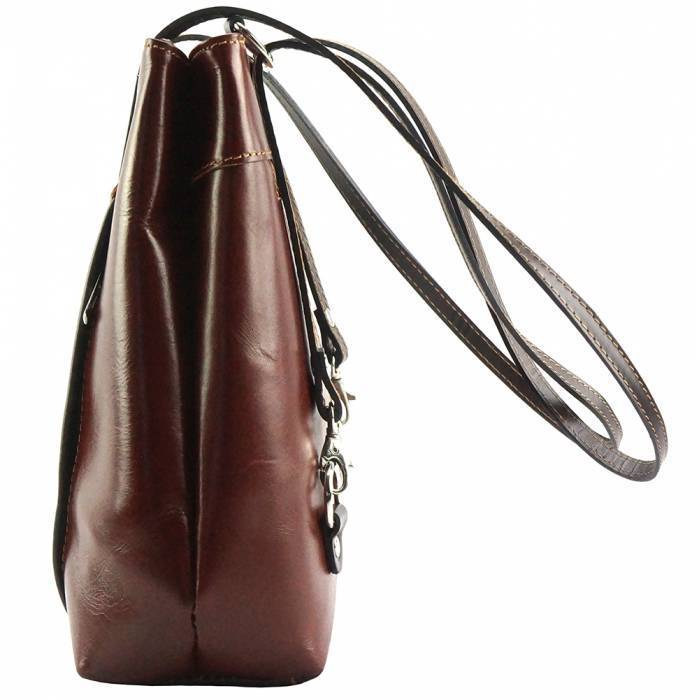 Made In Tuscany 'Lidia' Leather Shoulder Bag Ladies Shoulder Bag Made in Tuscany