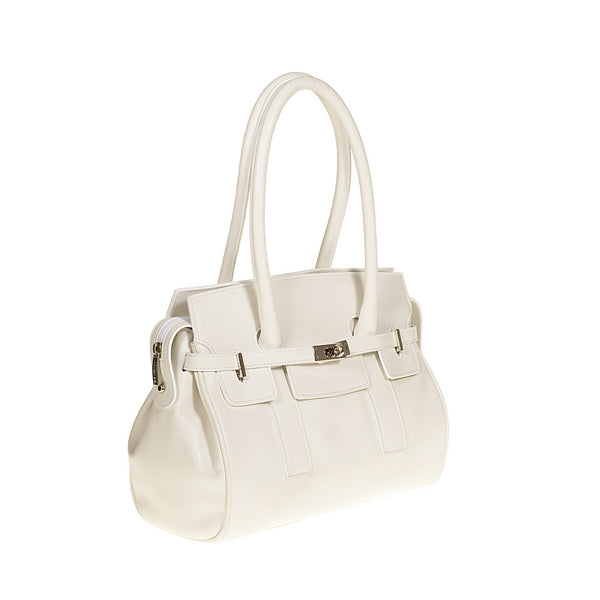 Tuscans 'Marmoraia' Women's Leather Handbag Handbag Tuscans