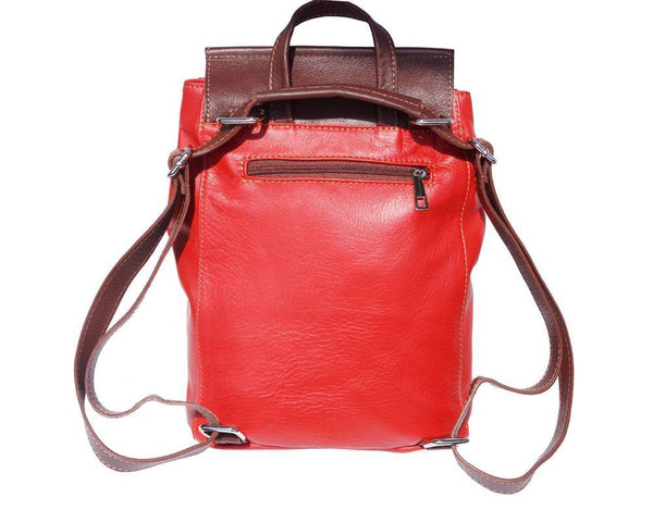 Made in Tuscany 'Lockme' Leather Backpack