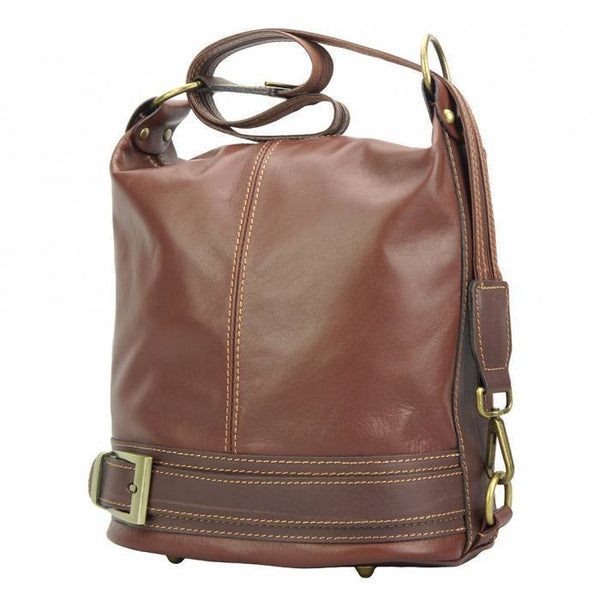 Made In Tuscany 'Caterina' Leather Backpack Backpack Made in Tuscany