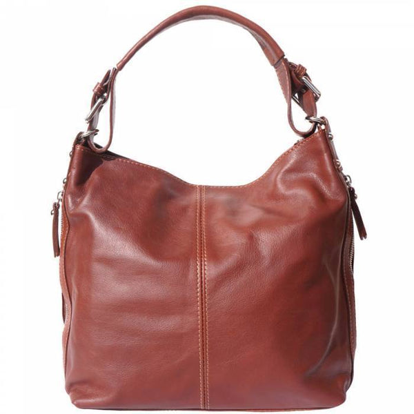 Made In Tuscany 'Betta' Leather Shoulder Bag Ladies Shoulder Bag Made in Tuscany Brown