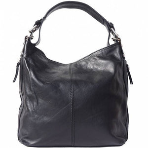 Made In Tuscany 'Betta' Leather Shoulder Bag Ladies Shoulder Bag Made in Tuscany Black