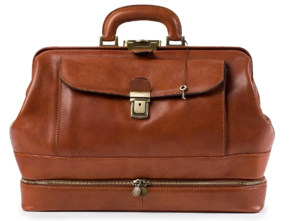 Original Tuscany 'Lorenzo' Leather Doctor Bag