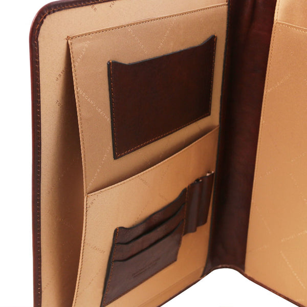 Tuscany Leather 1st Class 'Ottavio' Leather Document Case Leather Document/Portfolio Case Tuscany Leather