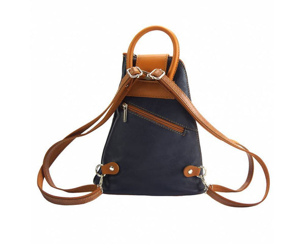 Made In Tuscany Michela Leather Backpack Backpack Made in Tuscany