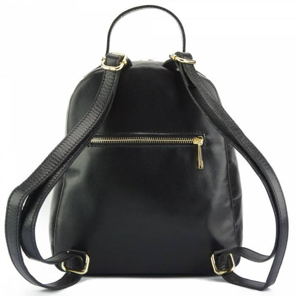 Made In Tuscany 'Basilia' Leather Backpack Backpack Made in Tuscany
