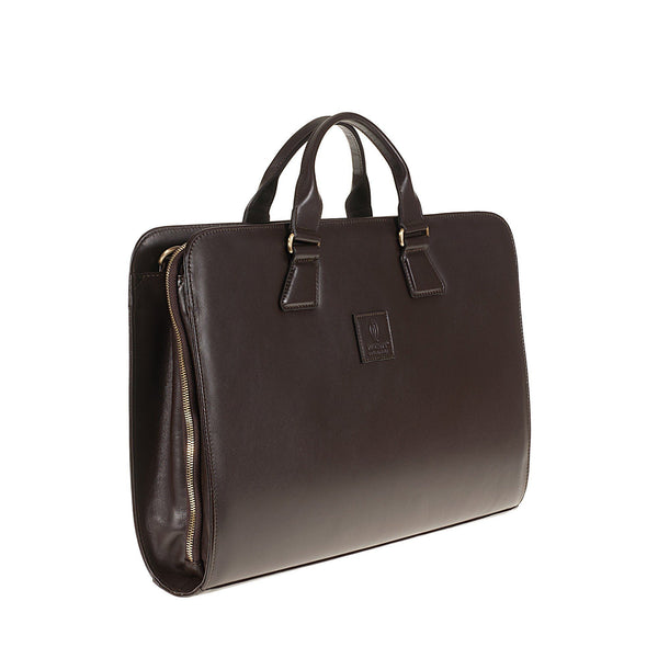 Tuscans 'Yuan' Men's Leather Briefcase Briefcase Tuscans
