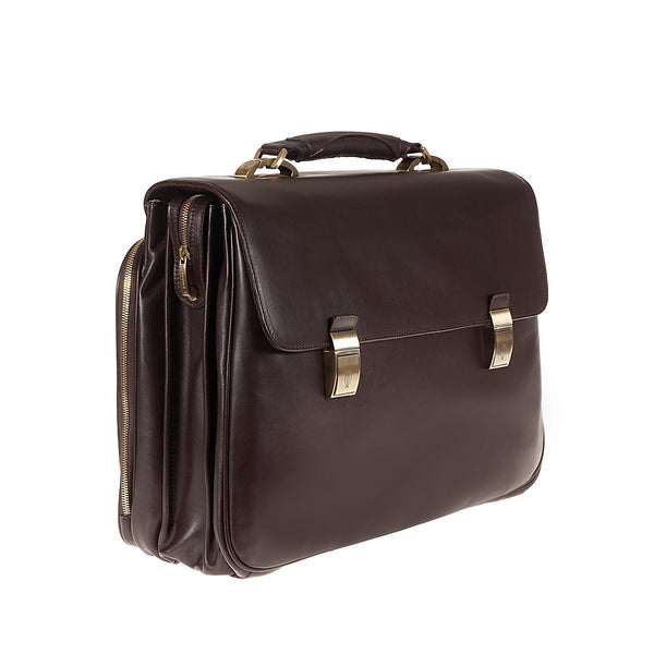 Tuscans 'Sterlina' Men's Leather Briefcase Briefcase Tuscans