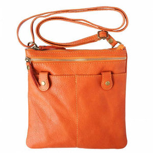 Made in Tuscany 'Wanda' Leather Cross-body Shoulder Bag
