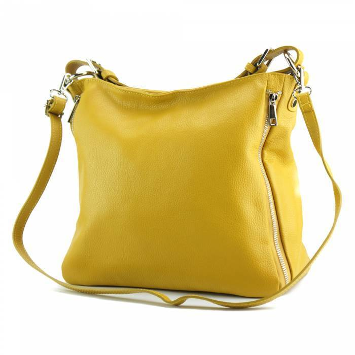 Made In Tuscany 'Artemisa' Leather Hobo Bag Handbag Made in Tuscany