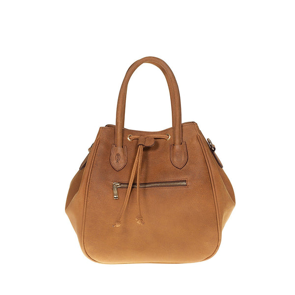 Tuscans 'Luicciana' Women's Leather Handbag Handbag Tuscans BROWN
