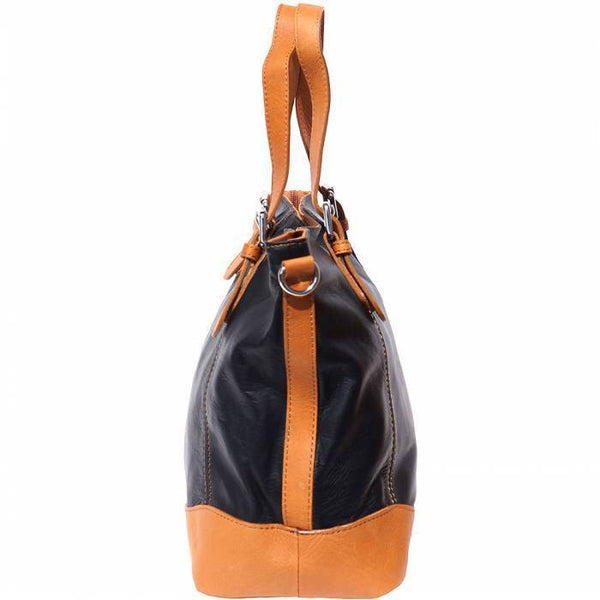 Made in Tuscany 'Milena' Leather Shoulder Bag