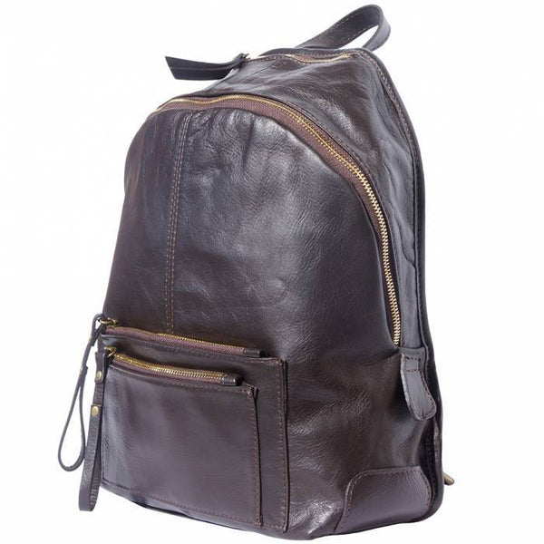 Made In Tuscany 'Springs' Soft Italian Leather Backpack Backpack Made in Tuscany