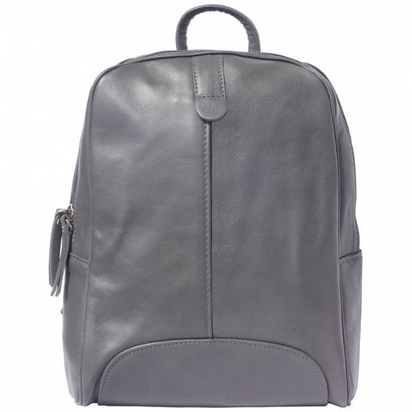 Made In Tuscany 'Cinzia' Leather Backpack Backpack Made in Tuscany Dark Grey