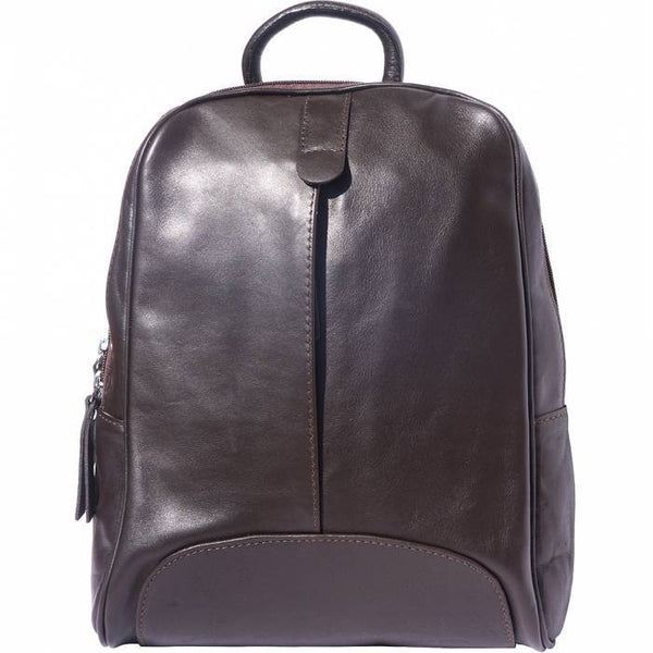 Made In Tuscany 'Cinzia' Leather Backpack Backpack Made in Tuscany Dark Brown