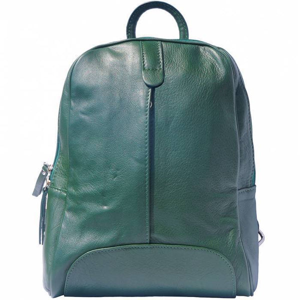 Made In Tuscany 'Cinzia' Leather Backpack Backpack Made in Tuscany Dark Green