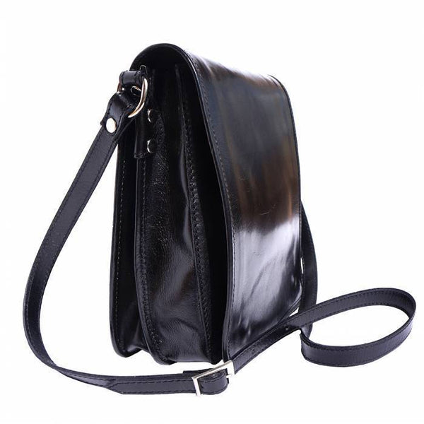 Made In Tuscany 'Mirko' Leather Messenger Shoulder Bag Messenger Bag Made in Tuscany