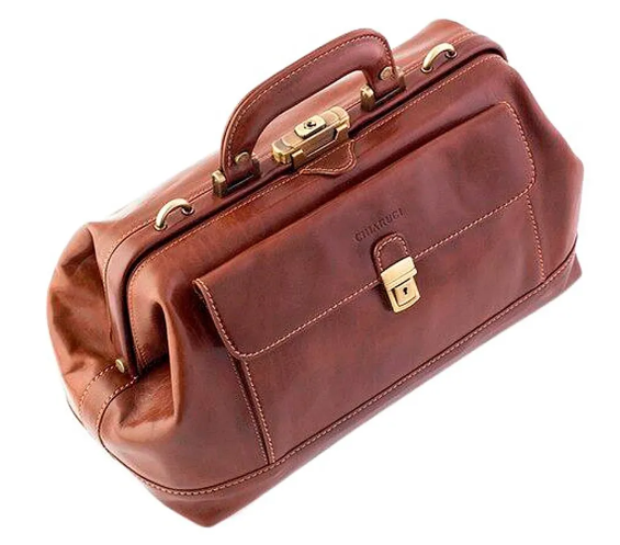 Original Tuscany 'Avogadro' Leather Doctor Bag