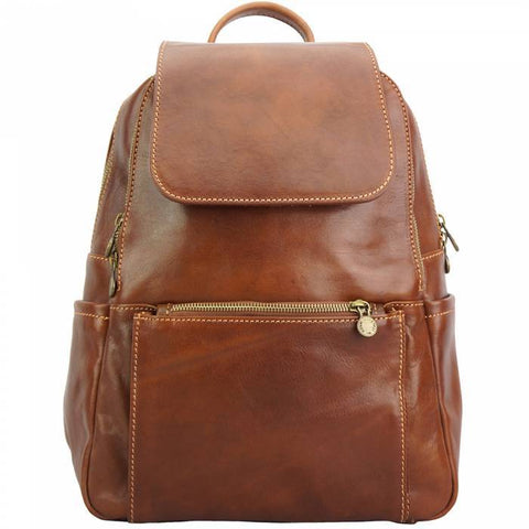 Made In Tuscany 'Brittany' Leather Backpack