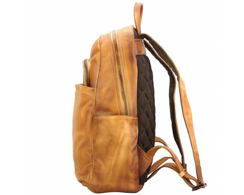 Made In Tuscany 'Jake' Leather Backpack Backpack Made in Tuscany