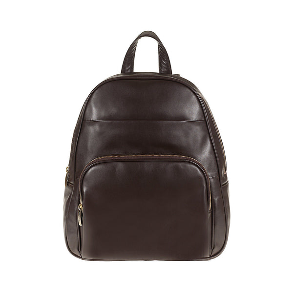 Tuscans 'Rupia' Men's Leather Backpack Backpack Tuscans Brown