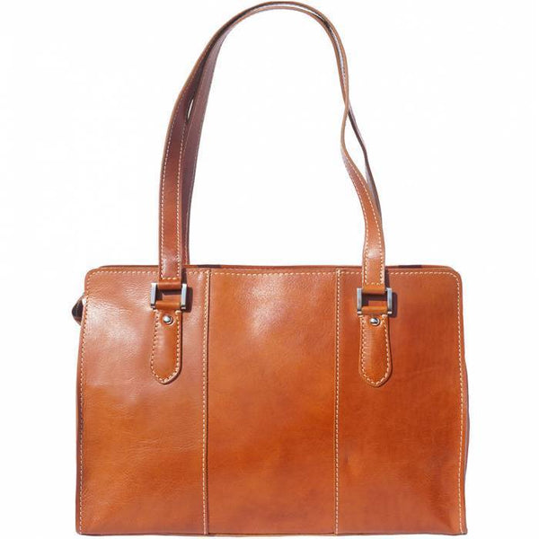 Made in Tuscany 'Verdiana' Leather Shoulder Bag