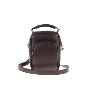 Tuscans 'Yen' Men's Leather Shoulder Bag