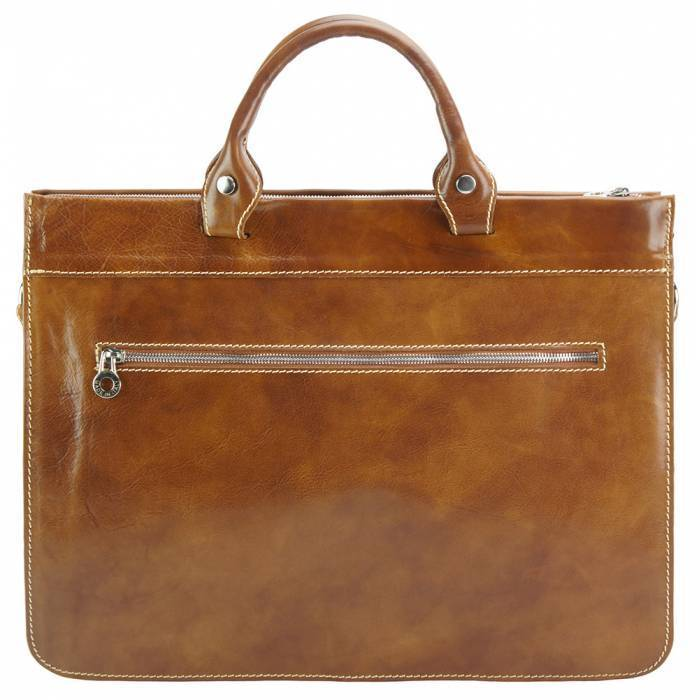 Made In Tuscany 'Donato' Leather Briefcase Laptop Briefcase Made in Tuscany