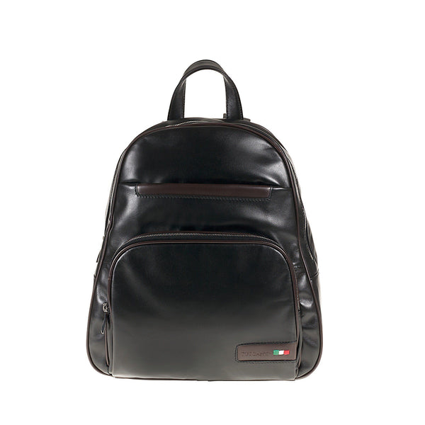 Tuscans 'Alcor' Men's Leather Backpack Bag