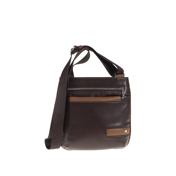 Tuscans 'Denebola' Men's Leather Messenger Bag Messenger Bag Tuscans
